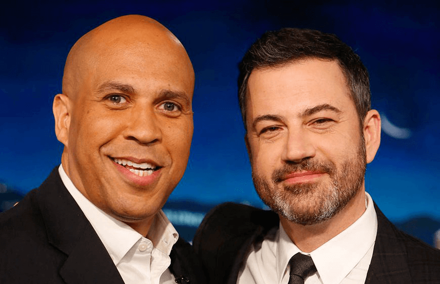 Vegan Senator Cory Booker Talks Compassion With Jimmy Kimmel