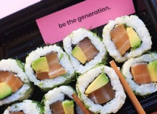 If You're In the UK You Can Try the World's First Vegan Salmon Sushi