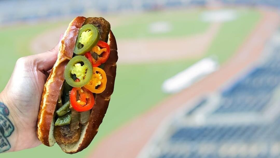 baseball stadium vegan food