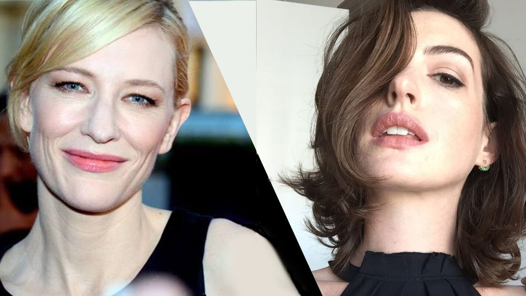 Cate Blanchett and Anne Hathaway Rock Vegan Fashion at 'Oceans 8' Premiere