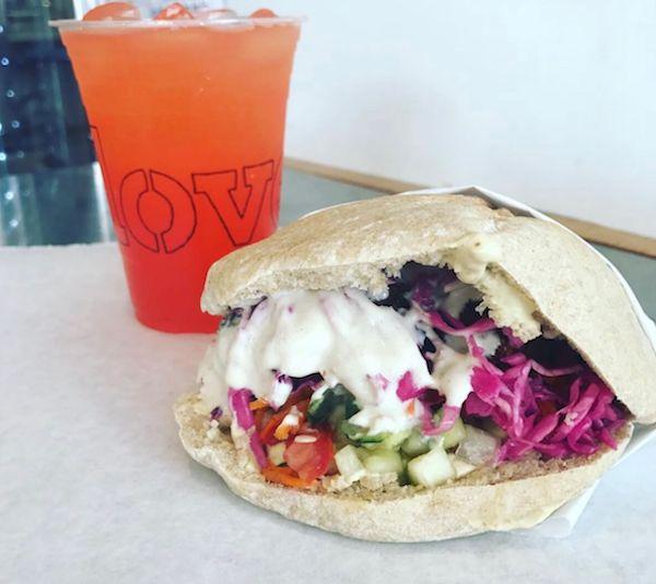 Clover sandwich