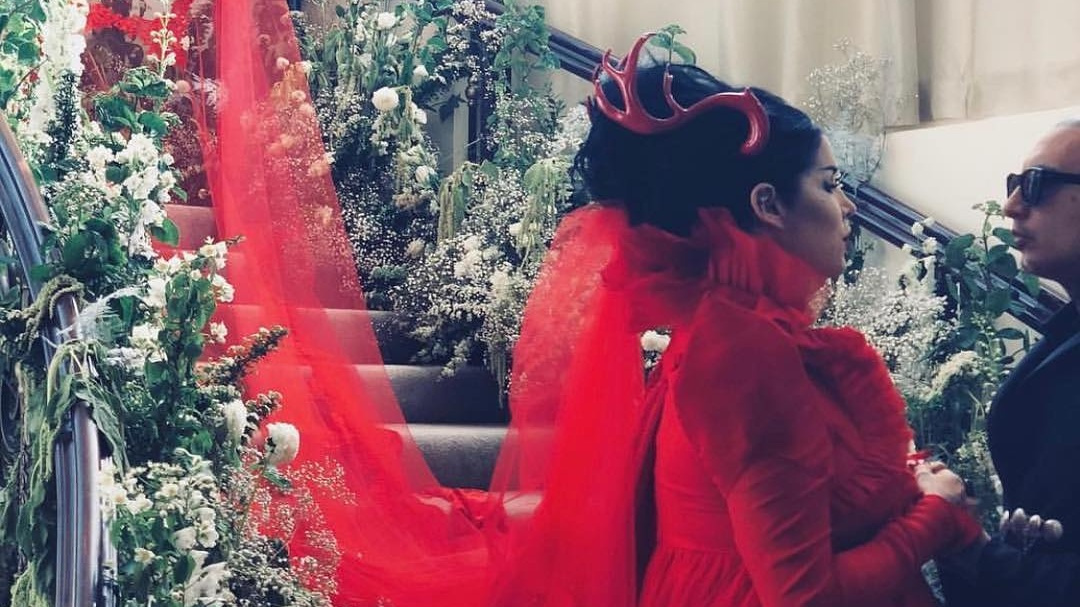 Vegan Celeb Kat Von D and Husband Leafar Seyer Rock Cruelty-Free Wedding Fashion at 'Most Epic Vegan Wedding Ever'