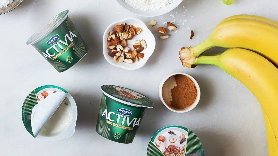 activia yogurt with fruit