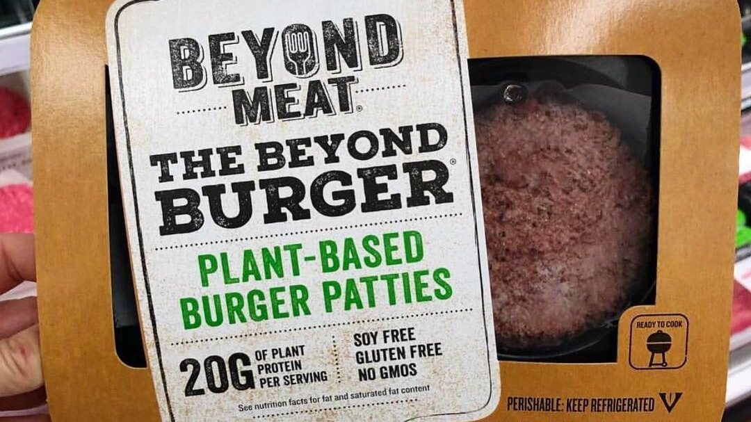 beyond meat vegan burger