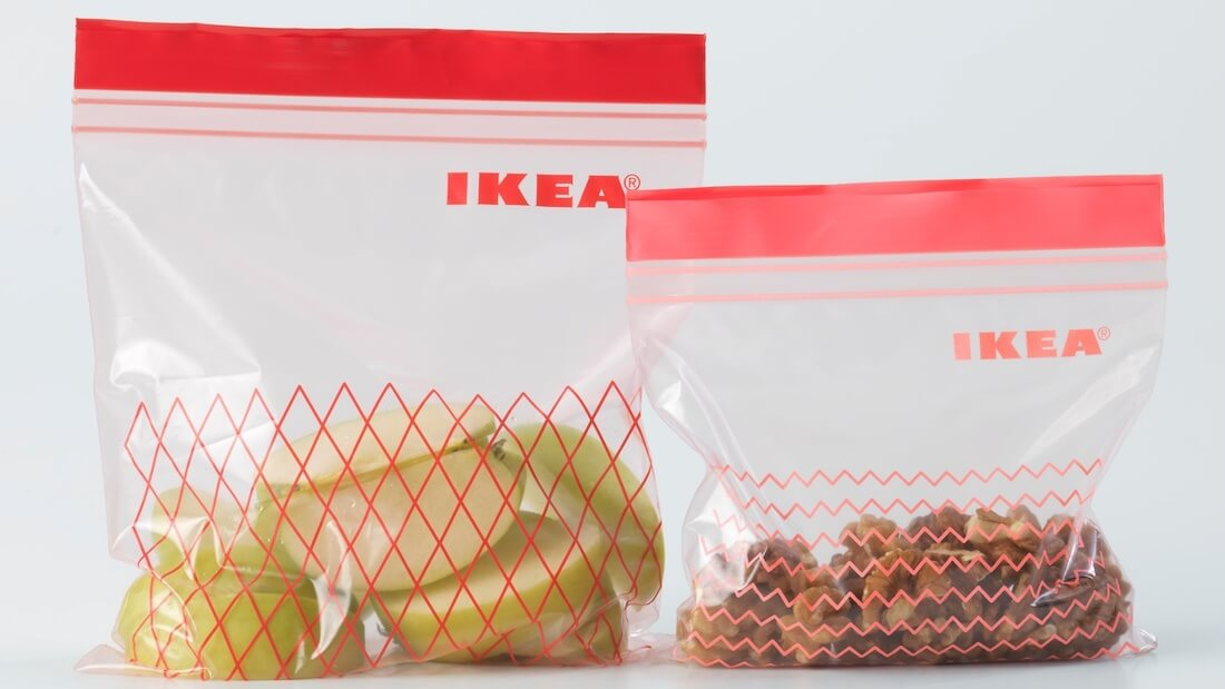 ikea freezer bag Cropped