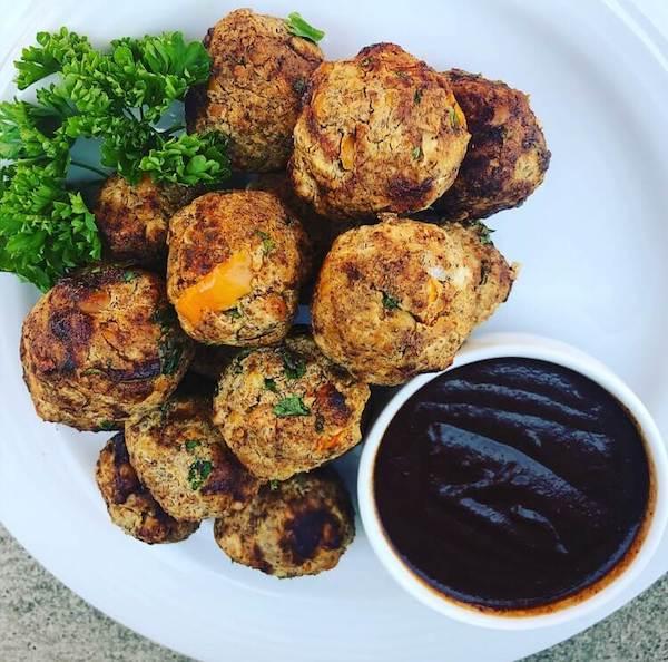 jerk meatballs