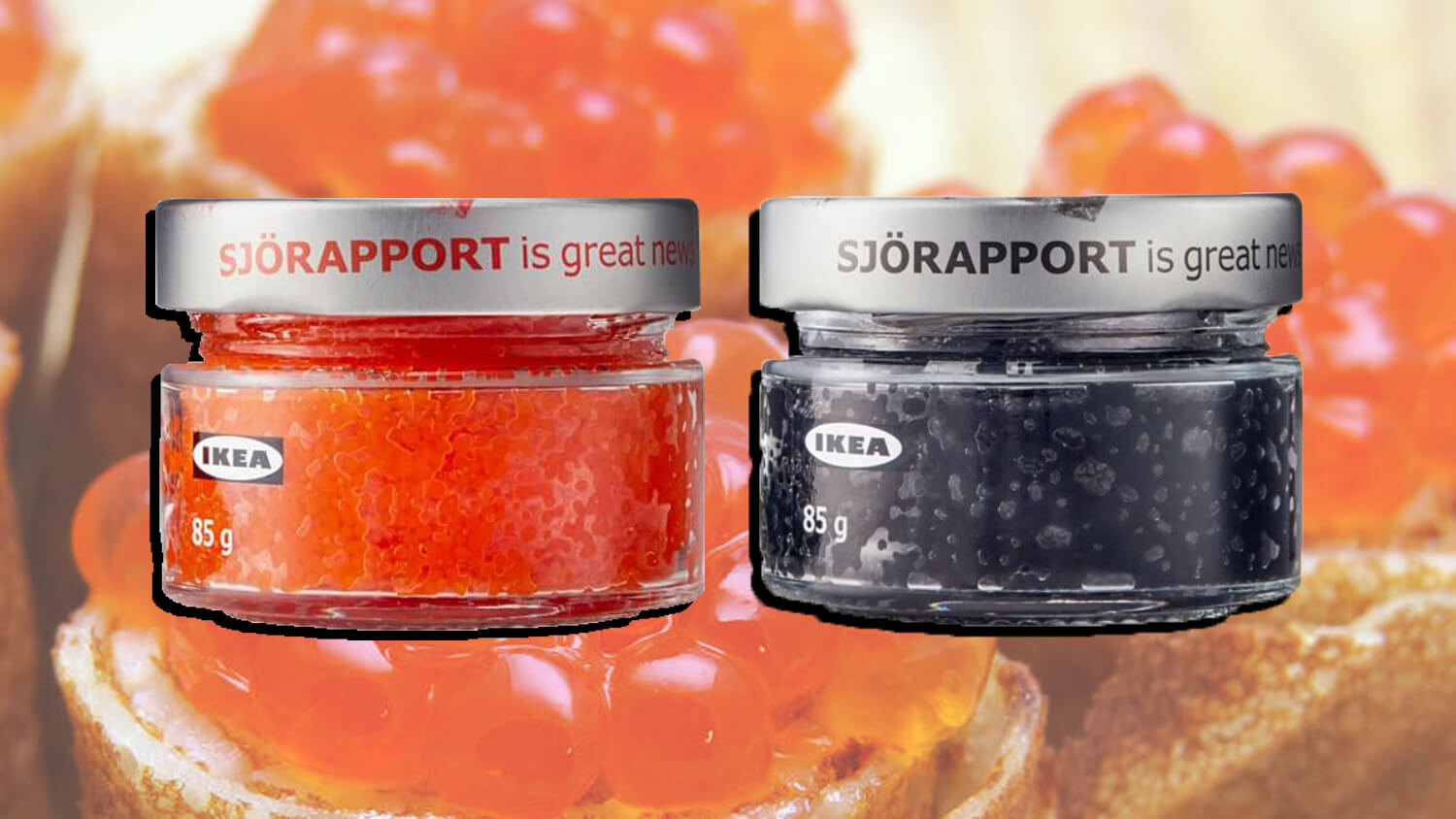 You Can Get Sustainable Vegan Caviar Made From Seaweed at IKEA
