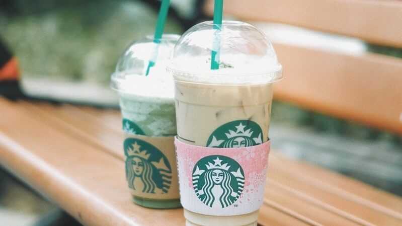 starbucks, iced coffee