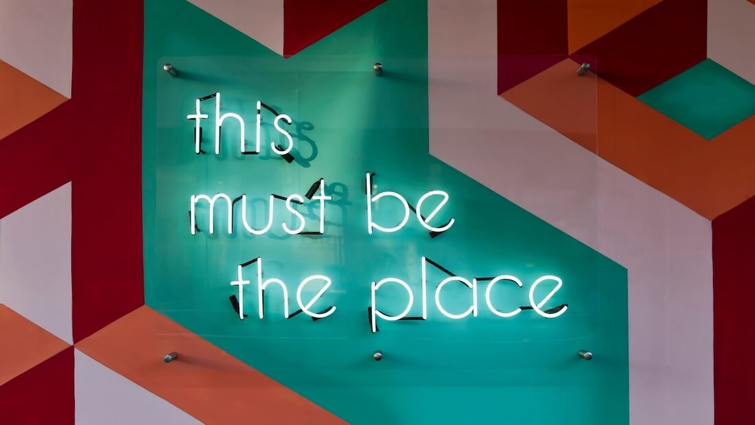 this must be the place graphic