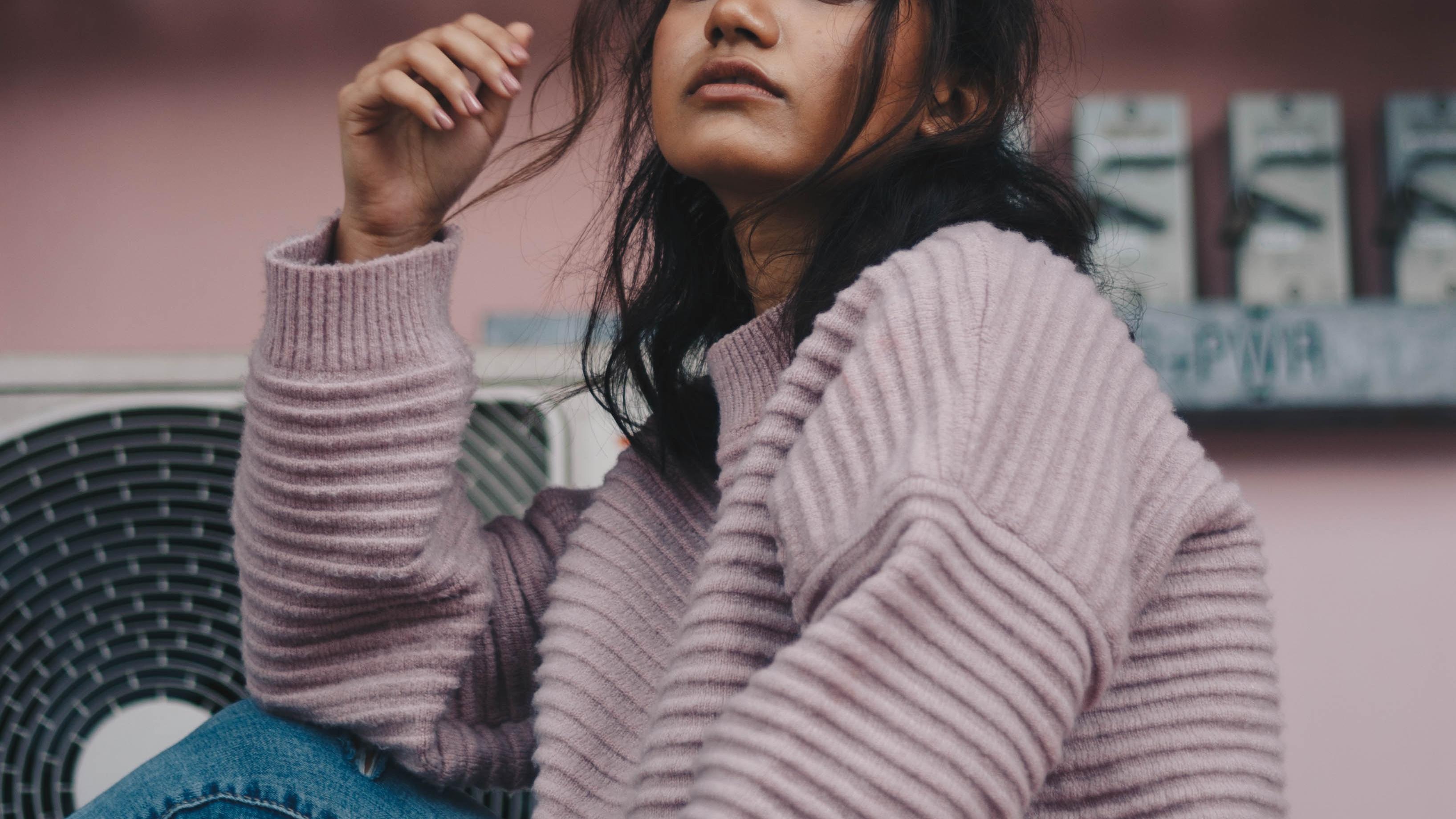 vegan wool sweater