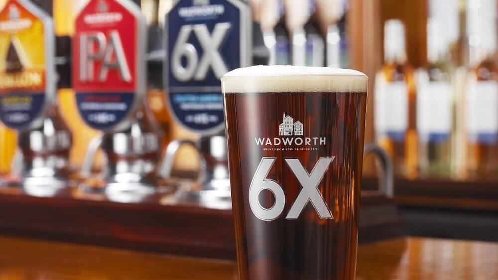 100-Year-Old Wadworth Brewery Launches Vegan Version of Award-Winning Gluten-Free Beer '6X Gold' Beer
