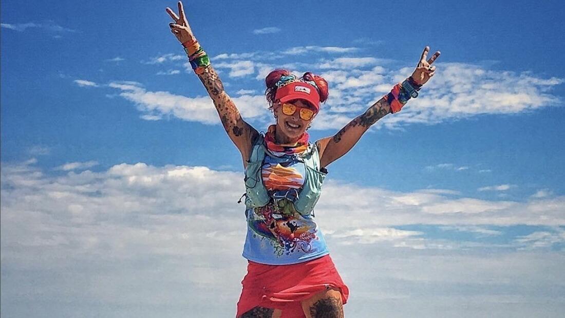 Vegan runner Catra Corbett