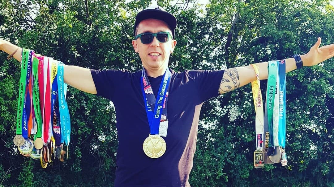 Vegan Endurance Runner Conor Devine Completes 7th IRONMAN Race With Multiple Sclerosis