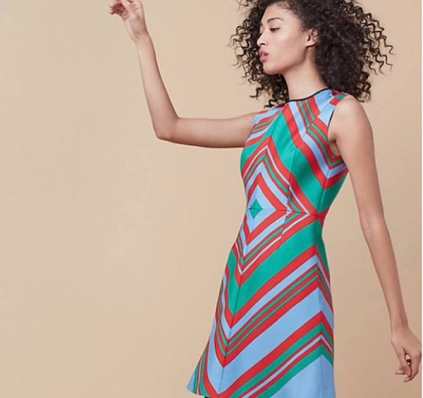 DVF Designer Fashion Dress