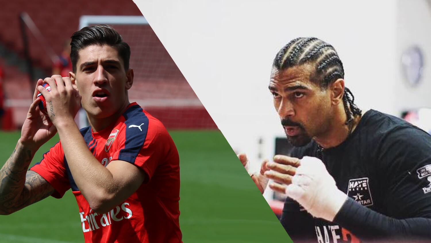 Boxer David Haye Helped Arsenal Footballer Hector Bellerin Go Vegan