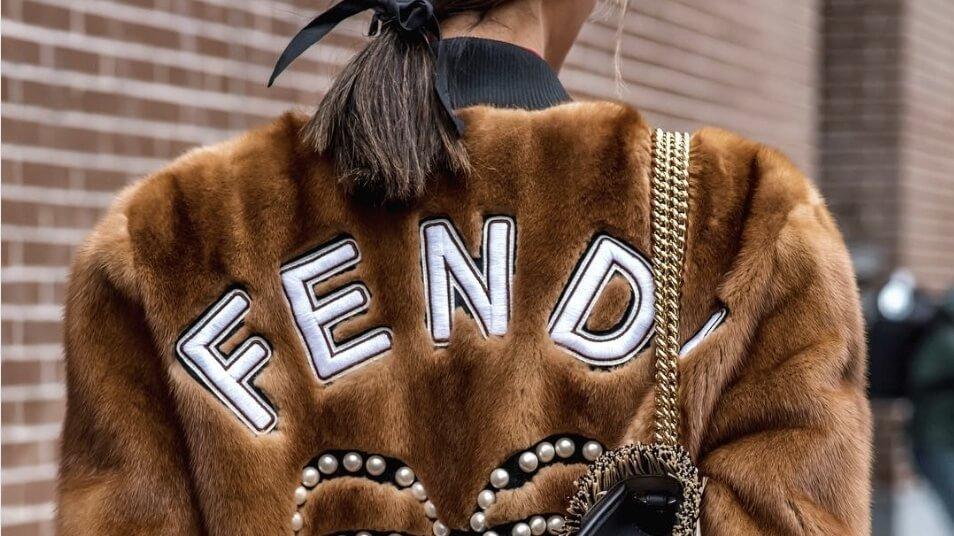 Fendi Faux Fur Jacket