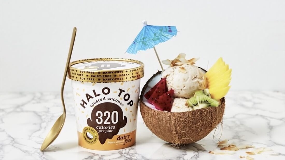 Halo Top Launches Low-Calorie Vegan Ice Cream Flavors in UK