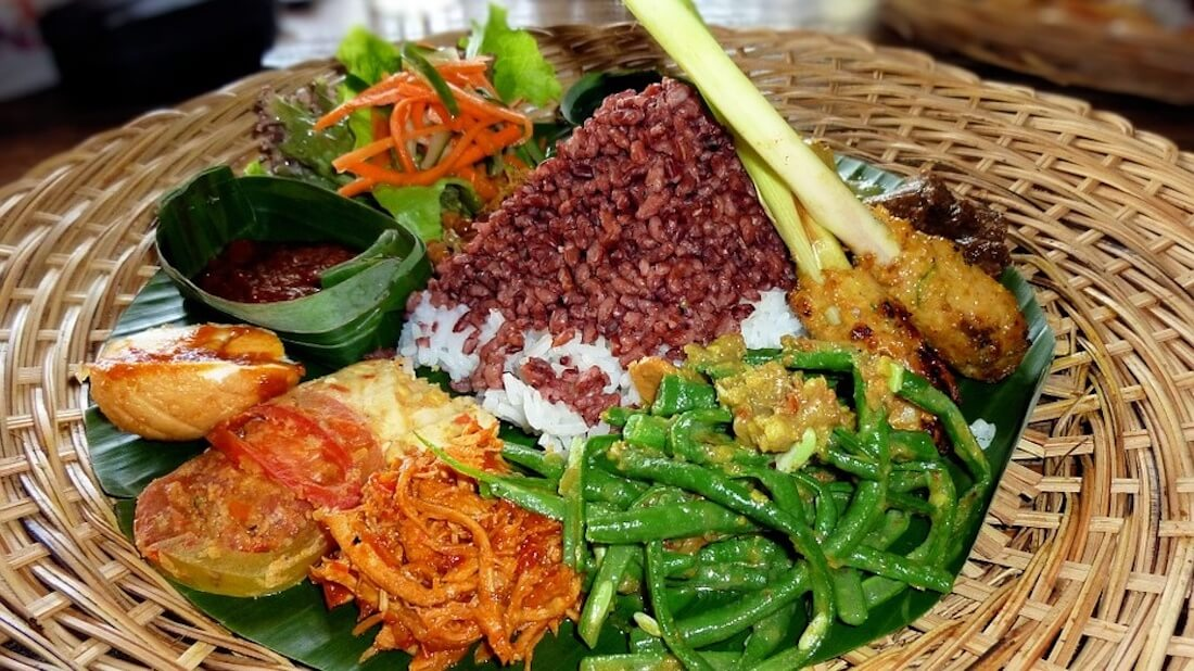 Indonesian vegan food