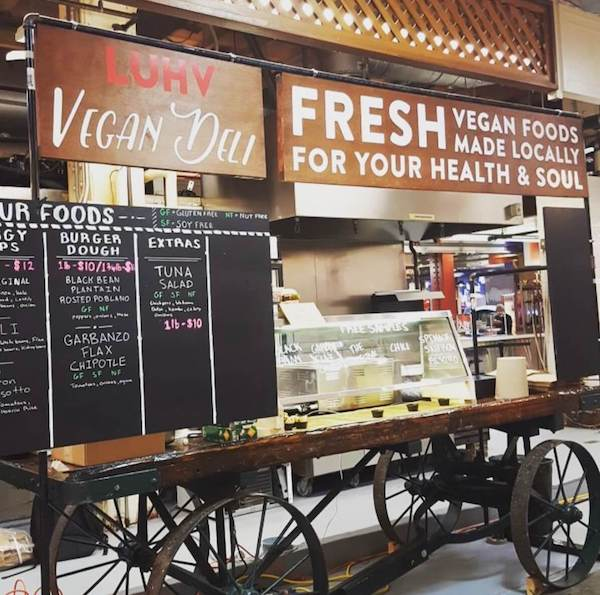 Vegan Food cart