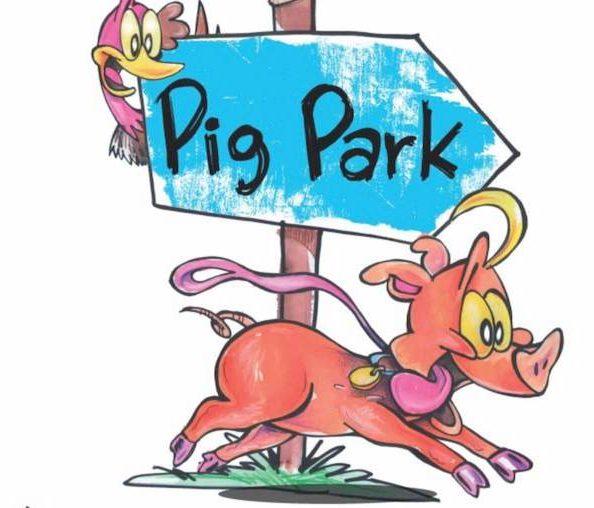 Vegan Children's books pig park