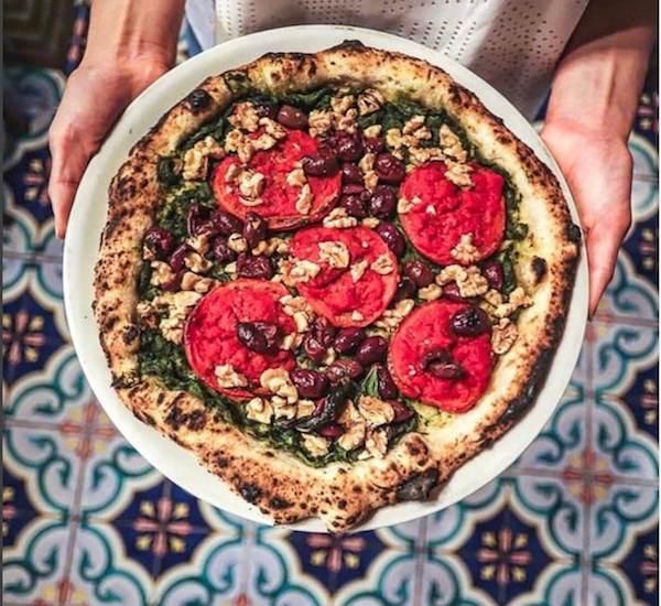 vegan vegetable pizza
