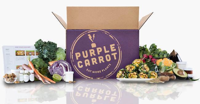 Purple Carrot Vegan Meal Kit
