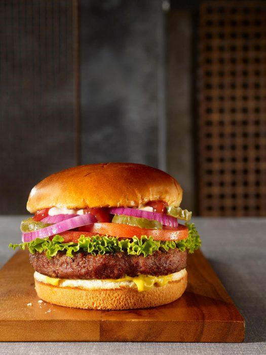 TGIFTW_Mushroom Beyond Meat Burger 鮮蔬農夫漢堡