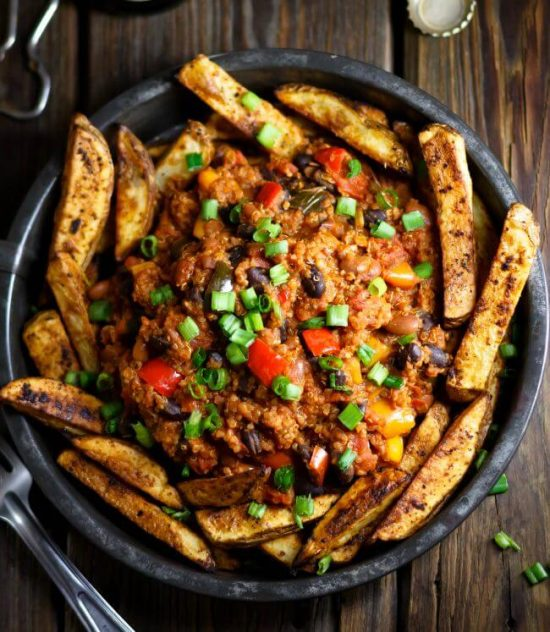all american chili fries