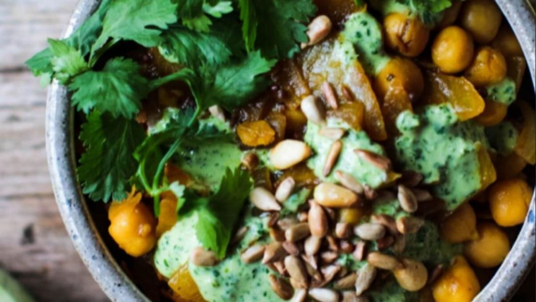 Healthy Oil-Free Chickpea Curry Recipe From 'The Easiest Way to go Vegan' Book