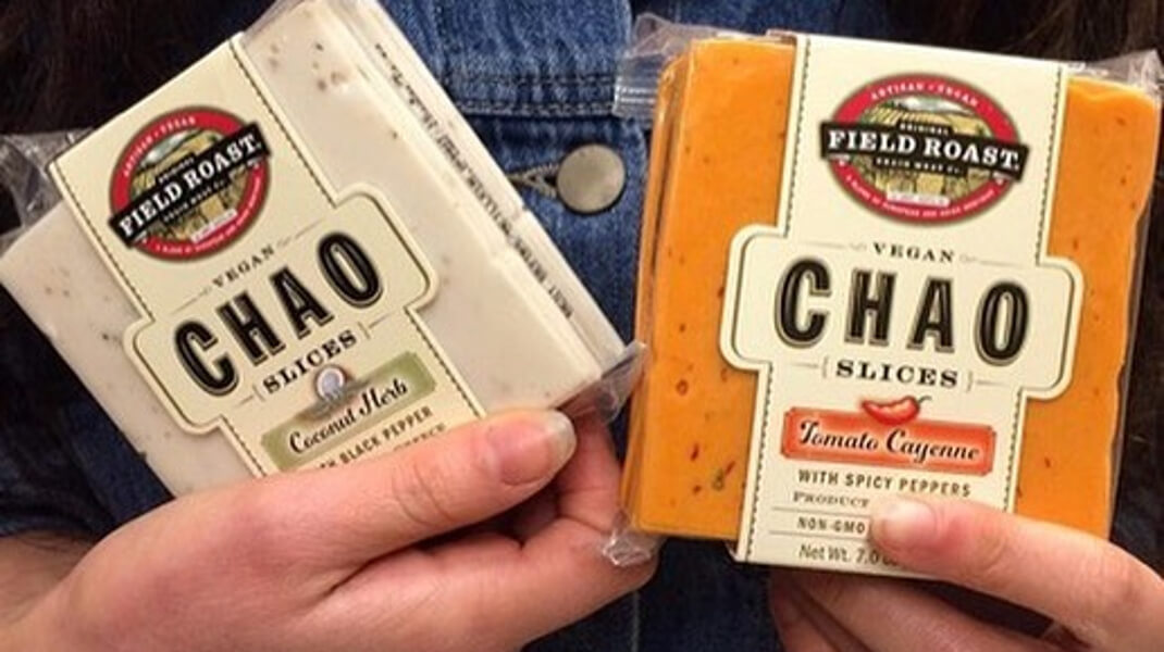 chao vegan cheese slices