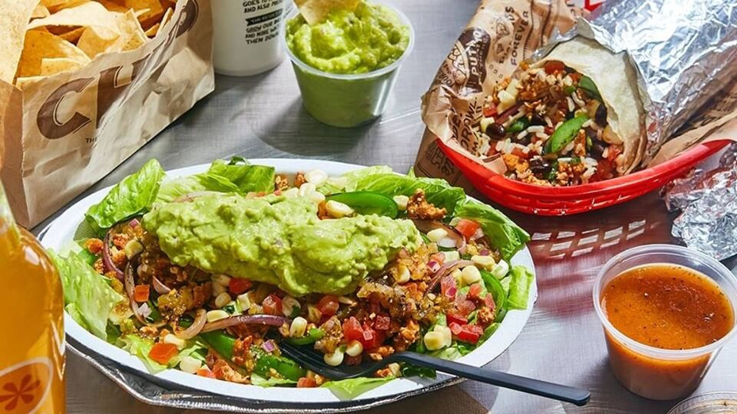 chipotle vegan option