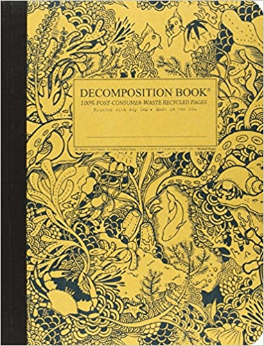 composition notebook recyled