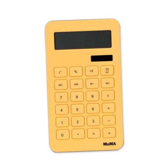 corn-based plastic-free calculator