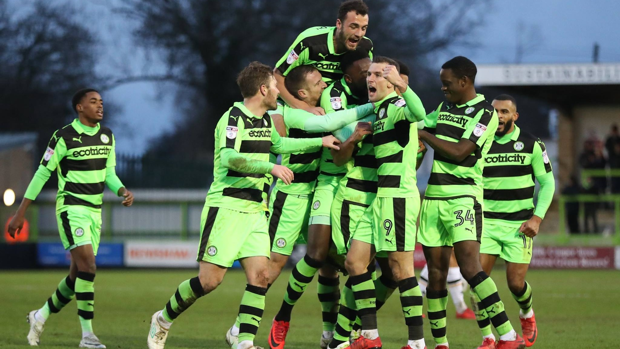 Carbon Neutral Football Club, the Forest Green Rovers, Launch Vegan School Lunches