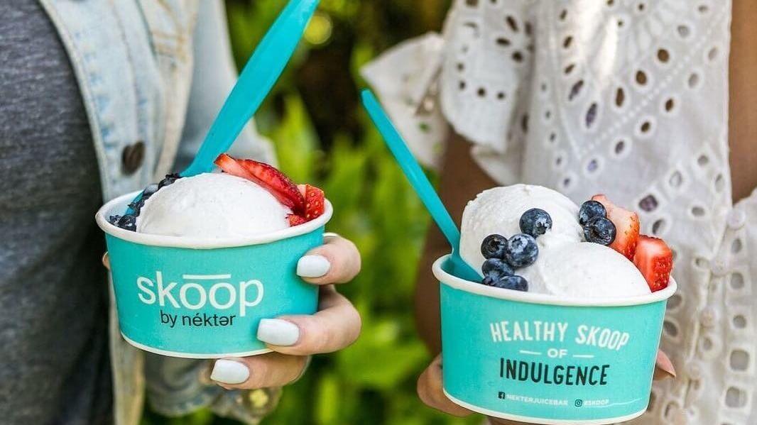 Nékter Juice Bar Launches Vegan Sea Salt Caramel and Coconut Matcha Ice Cream in 115 Locations