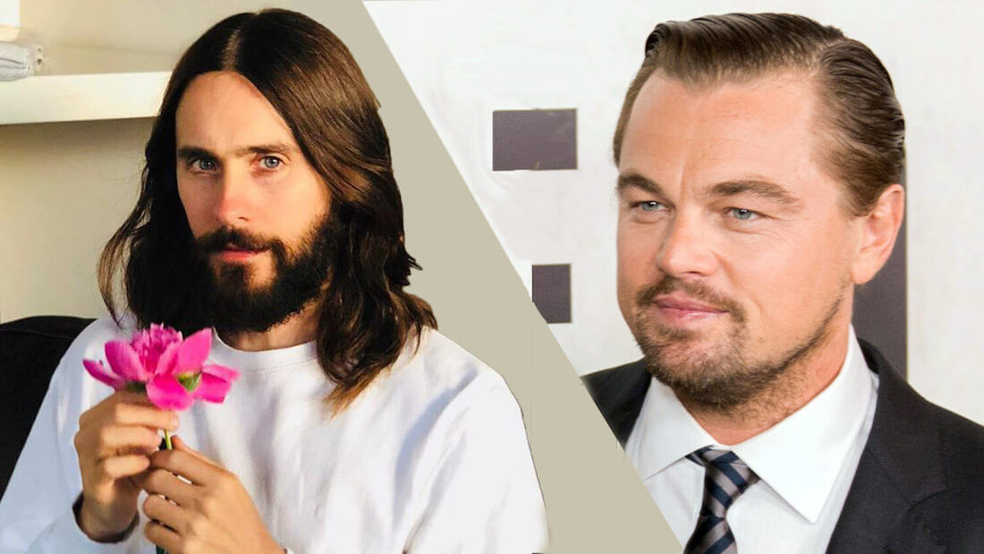jared leto and Leonardo DiCaprio