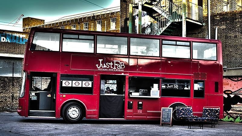Vegan Double-DeckerFood Bus Brings Plant-Based Italian Street Food to London