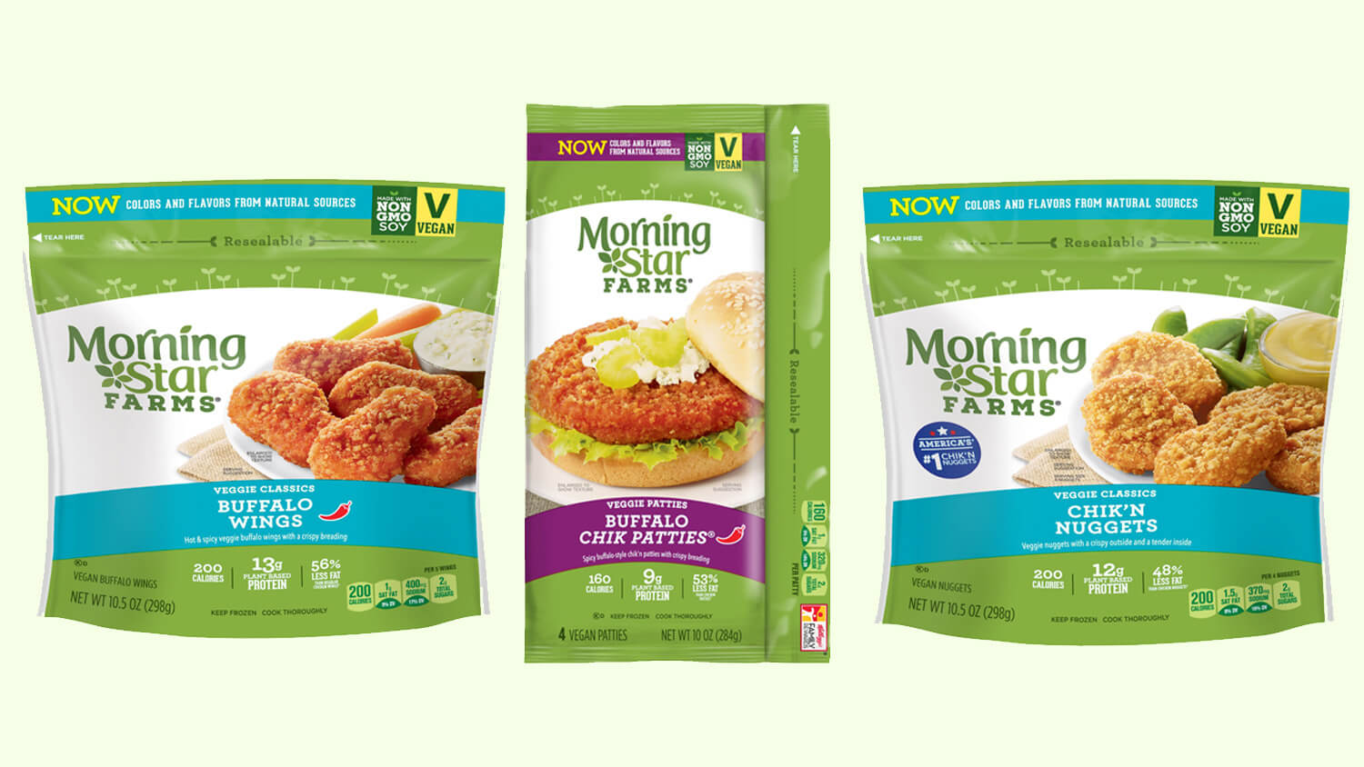 3 Morningstar Farms Chicken Products Are Now Vegan