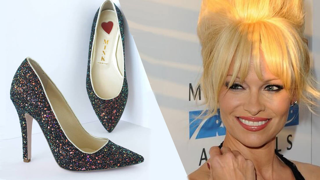 Pamela Anderson Rocks Cruelty-Free Vegan Mink Shoes on National Television