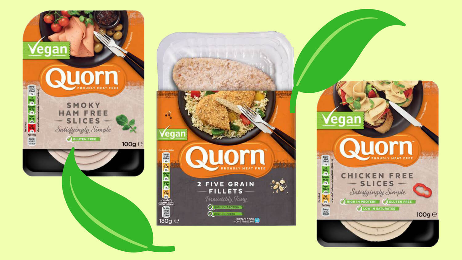 Vegetarian Meat Brand Quorn Invests £7 Million into R&D to Develop 'Bleeding' Vegan Burgers