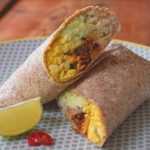 Vegan Breakfast Burrito that will eat you