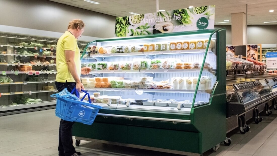 Netherlands' Largest Supermarket Chain Adds Dedicated Vegan Case
