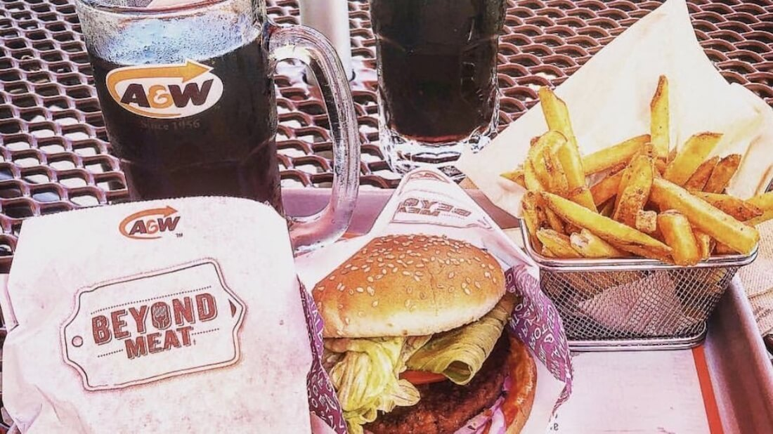 Vegan Beyond Burger Outsells A&W Canada's Classic Beef Burger