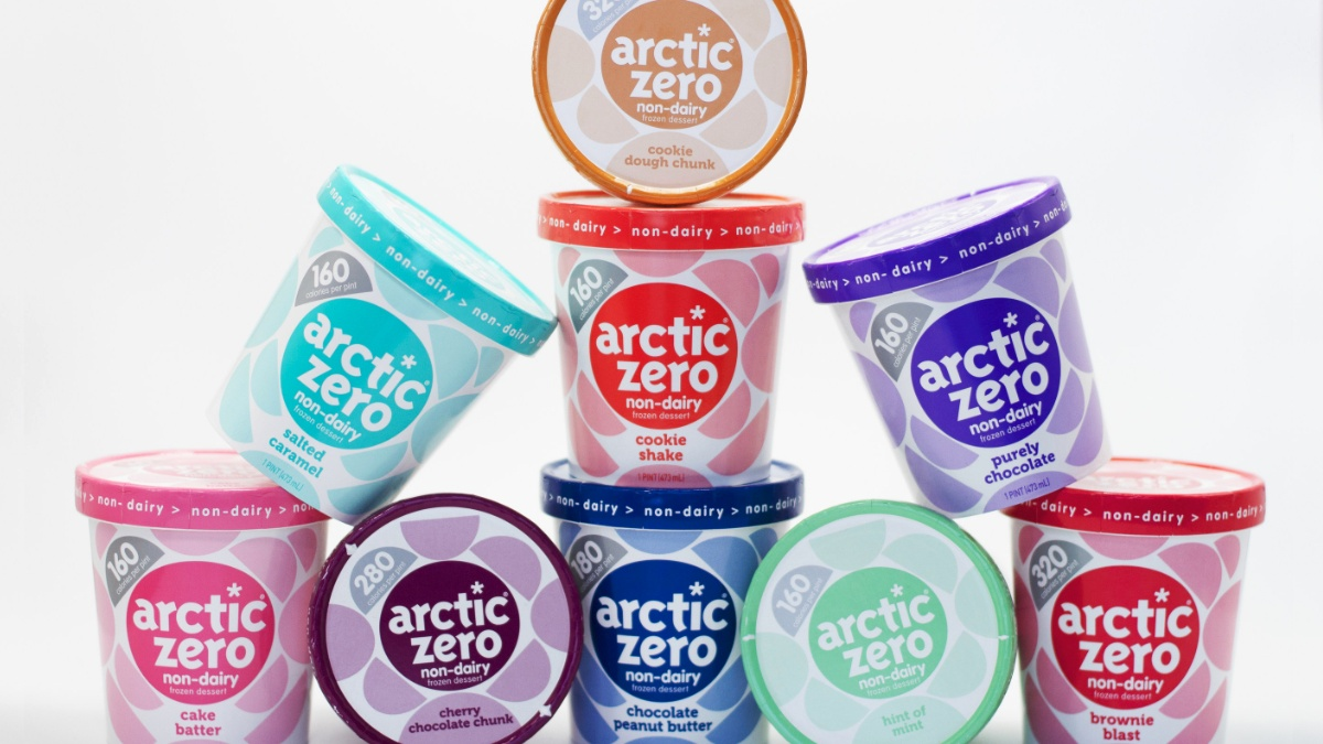 Arctic Zero Launches Low-Calorie, Low-Sugar Vegan Ice Cream At Amazon and Whole Foods