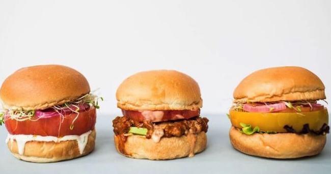 Jose Andres Vegan Burger Beefsteak