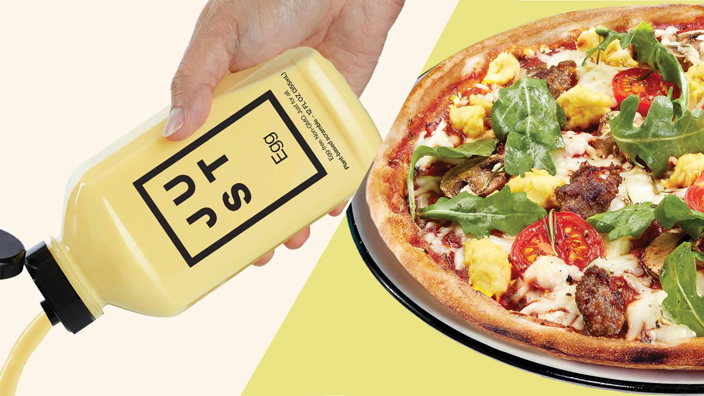 Pizza Express Hong Kong Creates World's First Vegan Just Egg Pizza