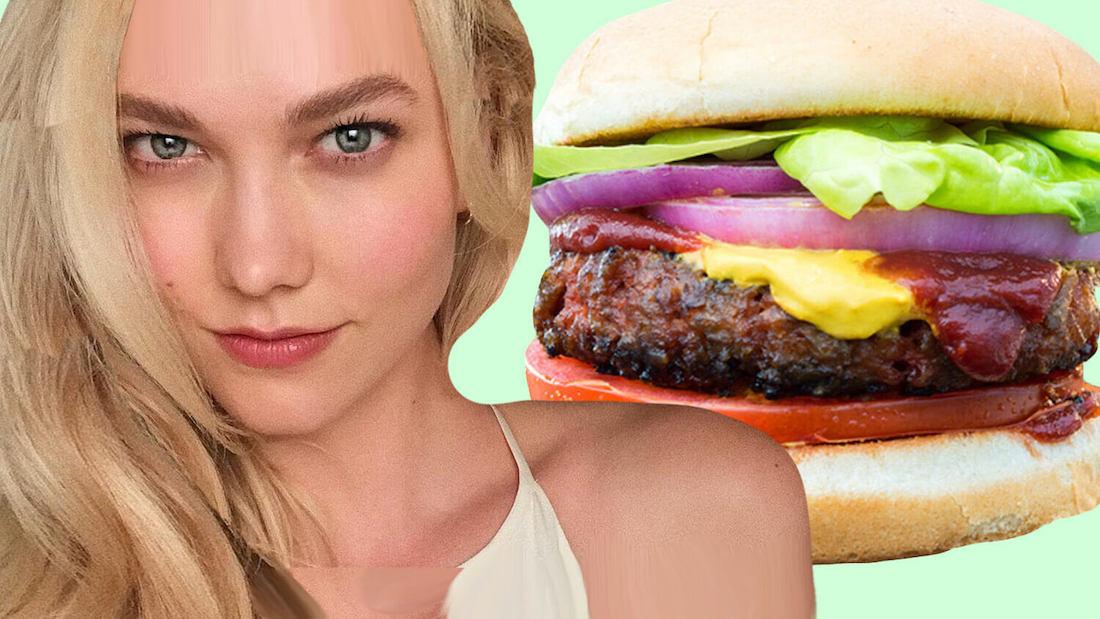 karlie kloss vegan