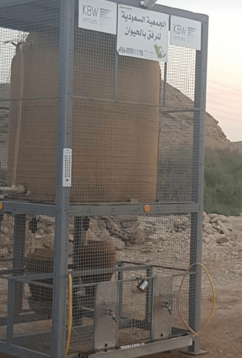 Khaled Alwaleed water tanks