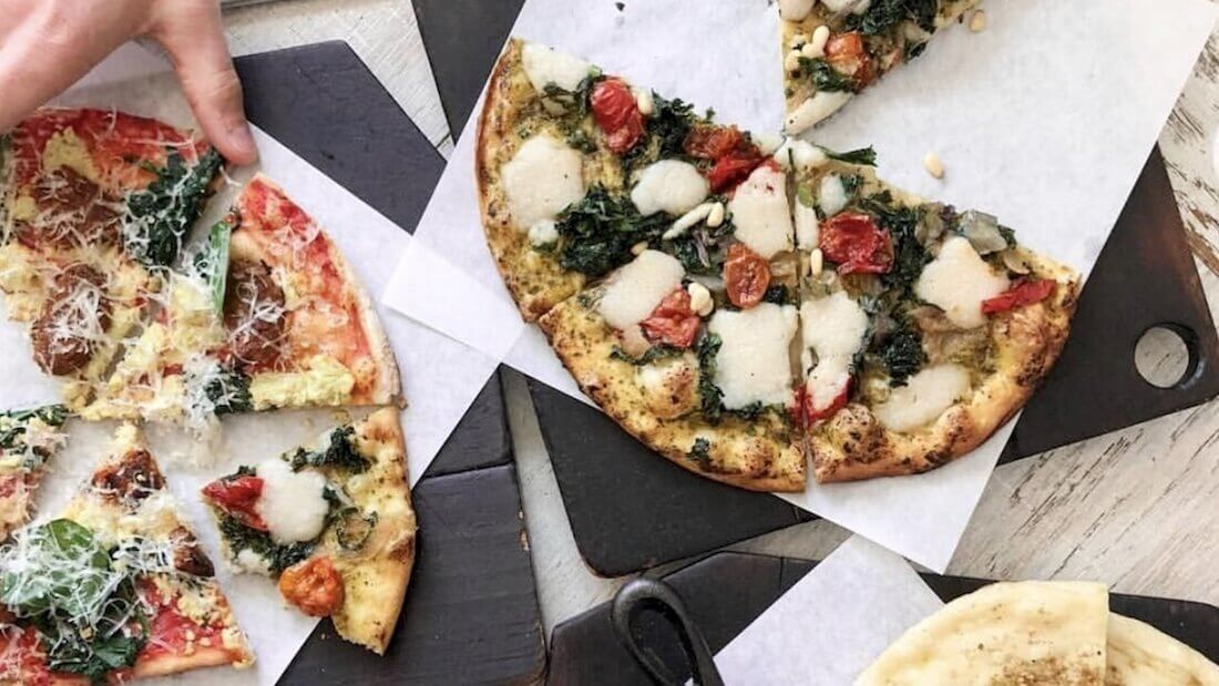 Vegan Pizza Chain Virtuous Pie Now Sells Dairy-Free Tofu Feta and Chevre Cheese By the Wheel
