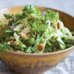 Bryant Terry's Afro-Vegan Green Spring Slaw Recipe with Dijon Dressing